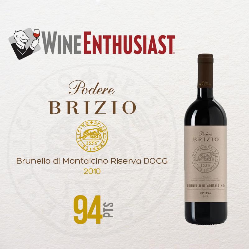 Brunello di Montalcino 2010, Wine Enthusiast