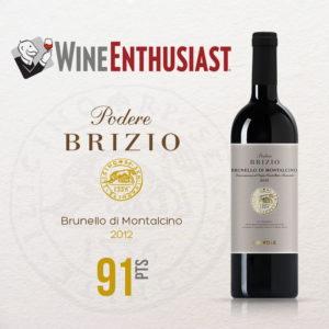 Brunello 2012, Wine Enthusiast